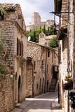 Fototapety Medieval Italian street