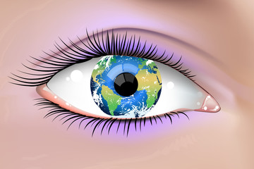 Planet Earth Eye