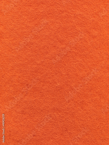 Seamless orange felt background