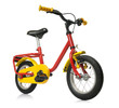 Kids bicycle isolated on white background