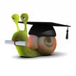 3d Snail Graduation