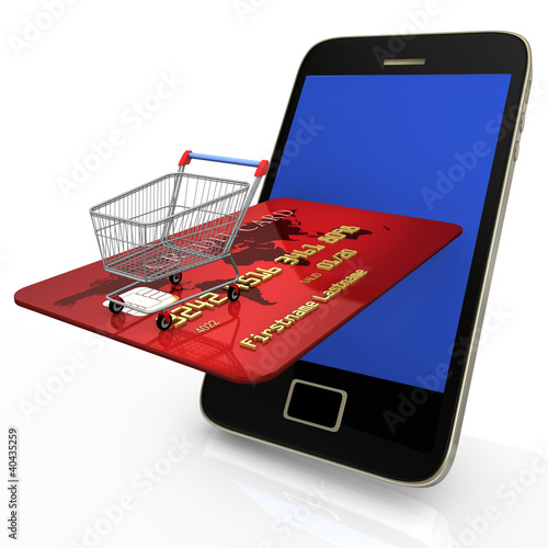 Mobile Shopping Credit Card