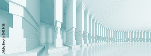 Abstract Column Background