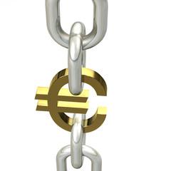 Euro Kette Gold 3
