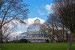 Palm house in Sefton Park, Liverpool