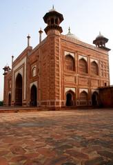 The Twin Mosque of Taj Mahal