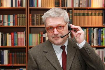 Anwalt am Headphone - Lawyer