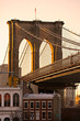 Brooklyn bridge, Manhattan, New York City. USA.