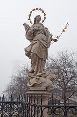 religious statue in Bratislava