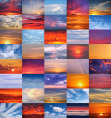 40 schöne Himmel - 40 Colourful Skies