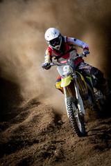 motocross in accelerazione
