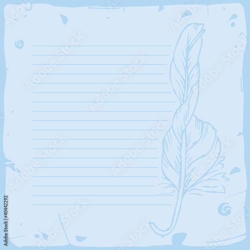 word横格纸模板