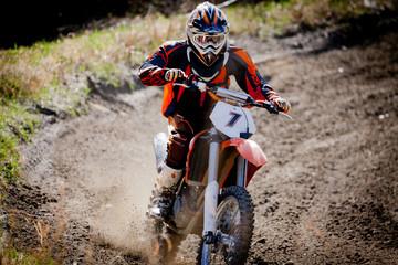 rider in moto