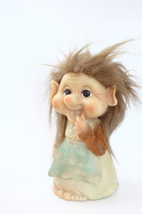 Danish troll dolls (close up)
