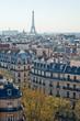Vue de la tour eiffel - Paris - France