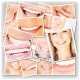 Fototapety Smiling faces collage