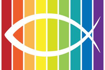 Ichthys Symbol bunt