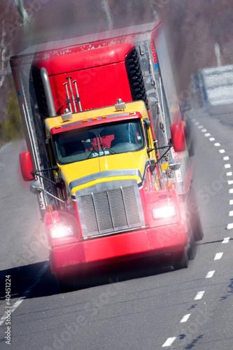Fototapeten,lastkraftwagen,traktor,transport,gut