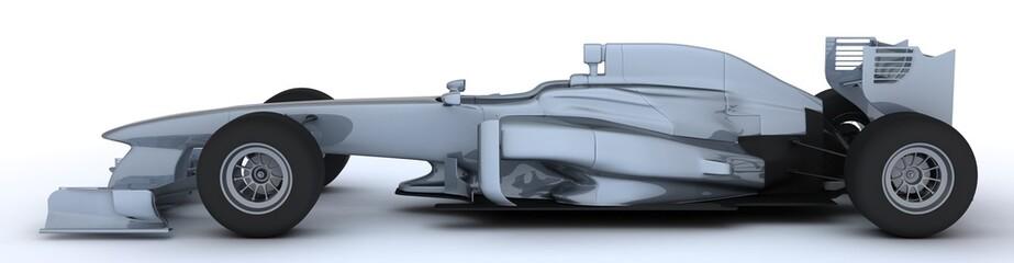 Generic open wheeled racing car