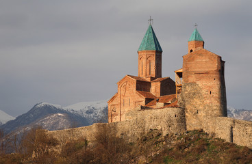Gremi church, Kakheti, Georgia.