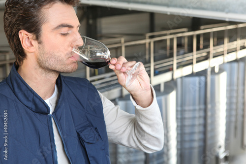 male wine producer