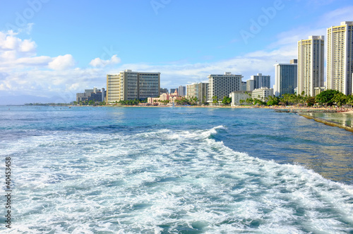 A photo of Waikiki - Tropical Hawaii