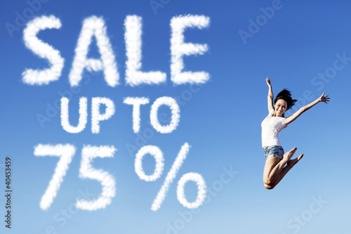75 Percent Sale Poster
