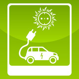 Sonnenenergie für Elektroauto