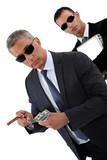 Wealthy businessmen poster