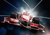 3d render, formula one car concept - 40456684