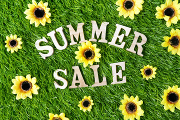 Summer Sale Sign background