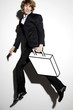Businessman carrying a briefcase.