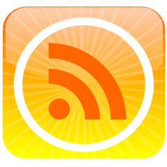 Feed rss button