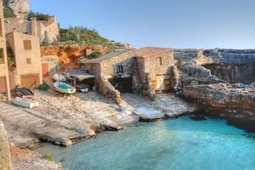 Puerto en calo des moro Santany, Mallorca