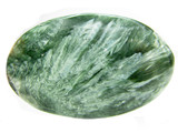 clinochlore semiprecious geological green mineral poster