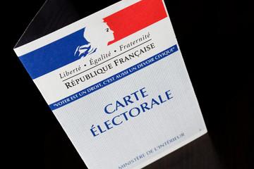 Carte électorale - élections