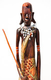 Africa wood carving art