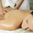 Woman enjoying a relaxing body massage