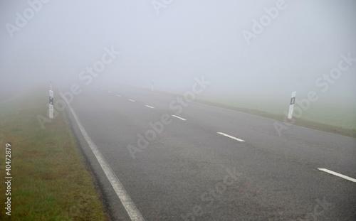 Leinwandbild Motiv nebel