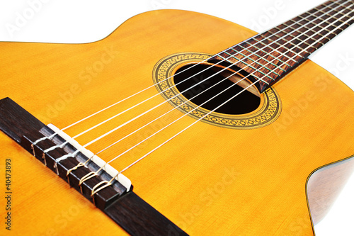 Guitar acoustic musical instrument