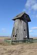 Остатки старой ветрянной мельницы.Беларусь