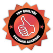"""Siegel """"Top Qualität - Premium-Auswahl"""""""