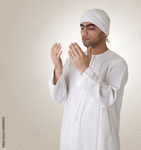 arabian guy praying