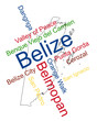 Belize map and cities