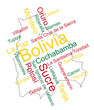 Bolivia map and cities