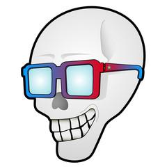 Cadáver con gafas