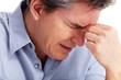Man having stress.