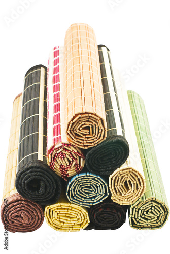 colored bamboo napkins