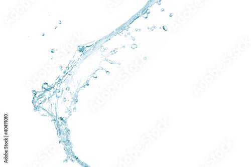 Staande foto Abstract wave Pure splash of water