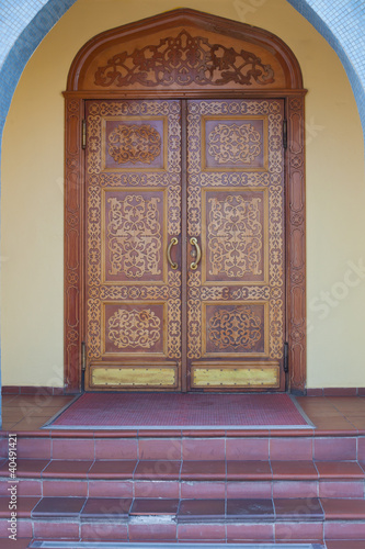 inlaid doors